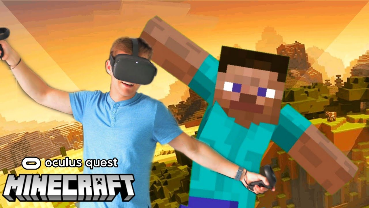 Minecraft Oculus Quest How VR looks to Bedrock Players Body