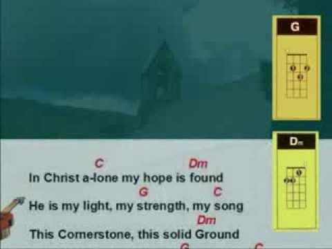 Ukulele Strumming - In Christ Alone - YouTube