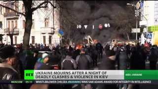 Ukrainian president agrees to truce after deadly clashes in Kiev