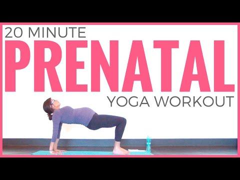 Prenatal Yoga Workout (20 minute Yoga) Pregnancy Yoga for