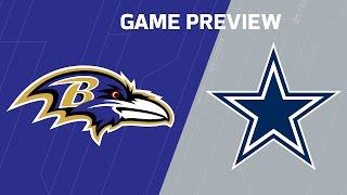 Ravens vs. Cowboys (Week 11 Preview) | NFL NOW