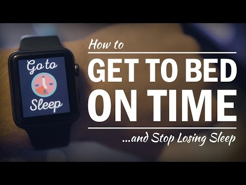 How to Get to Bed on Time and Stop Losing Sleep - College Info Geek
