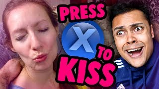 Press X To Kiss Your Girlfriend (press X To Not Die)
