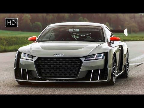 Audi TT Clubsport TURBO Technology Concept Car with 600 HP HD
