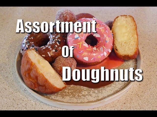 Assortment Of Doughnuts