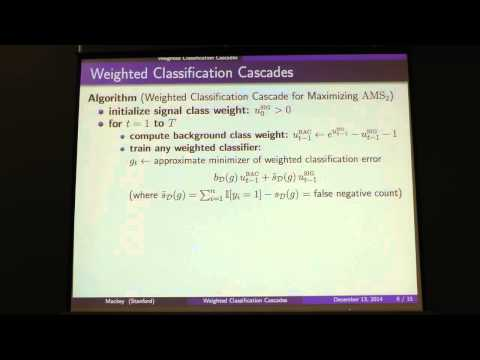 NIPS 2014 Workshop - (Mackey) High-energy particle physics, machine learning, and the HiggsML...