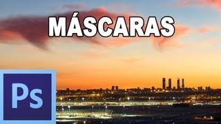 Máscaras: Qué son y para qué sirven - Tutorial Photoshop en Español por @prismatutorial (HD)