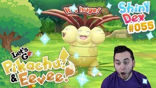 EPIC SHINY EXEGGUTOR! SUPER RARE in POKEMON LET'S GO PIKACHU and EEVEE!