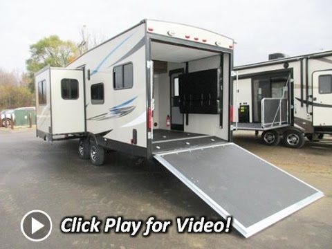 HaylettRV.com - 2016 Coachmen Freedom Express Blast 301BL Ultralite Toy Hauler Travel Trailer
