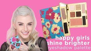 happy girls shine brighter eyeshadow palette with Jen