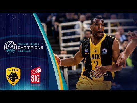 AEK v SIG Strasbourg - Full Game - Quarter-Final - Basketball Champions League 2017-18
