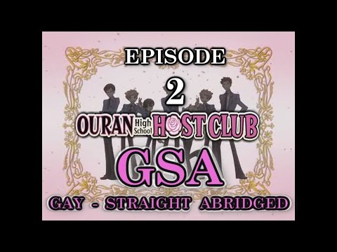 Ouran High School Host Club Abridged (GSA) - Episode 2 - Teacups