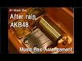 After rain/AKB48 [Music Box]