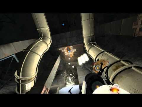 Portal 2 Cap 10 Gameplay en Español. Volando voy, Volando vengo!