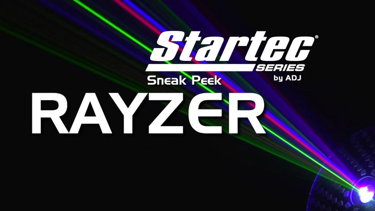 Startec Rayzer Laser + LED Party Light