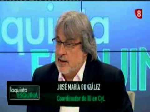 La quinta esquina con José María González, coordinador de IU en CyL