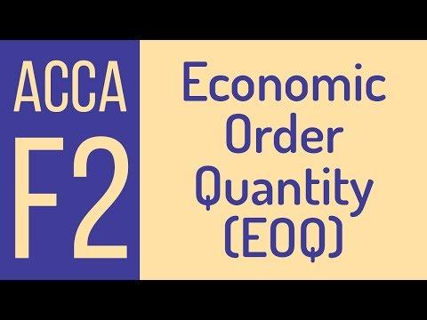 Economic Order Quantity [Eng]