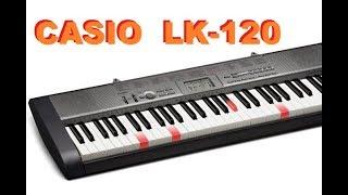 casio lk 120 key lighting keyboard demo