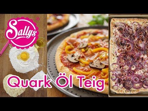 Quark-Ölteig / Basics / für schnelle Pizza, Flammkuchen & Co.