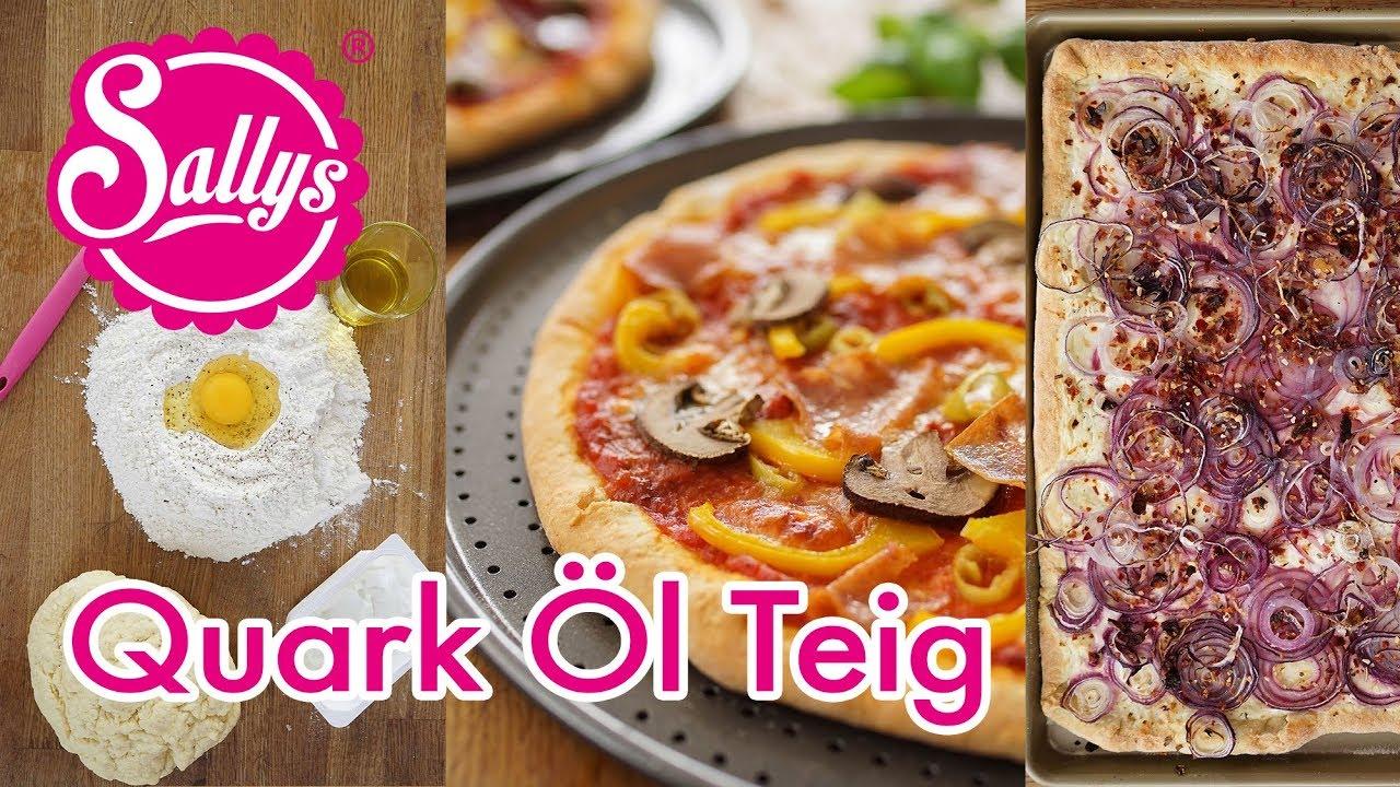 Quark ölteig Basics Für Schnelle Pizza Flammkuchen Co