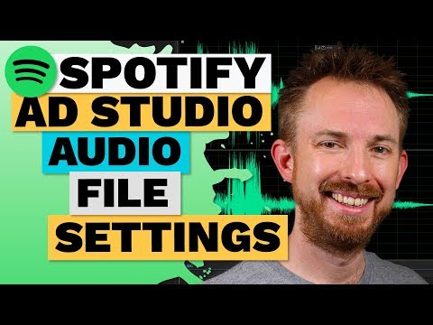 Spotify Ad Studio Audio File Settings Mp3