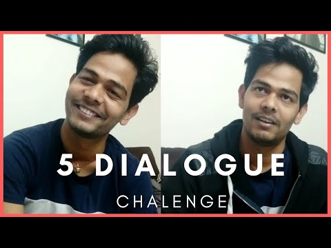 Five Dialogue Challenge By DN24 || Vicky Mishra || DN24 Live