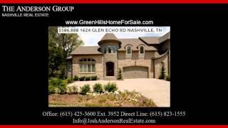 million dollar homes for sale in green hills nashville tn