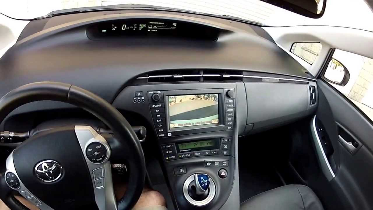 Interior Tour 2010 Toyota Prius 5 Advanced Technology