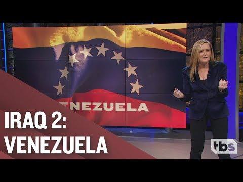 Watch Samantha Bee Dissect Trump's Troubling Interest in Venezuela
