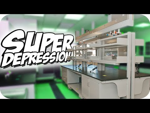 Making SUPER CANCER and SUPER DEPRESSION! ► Evil Labs Gameplay