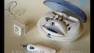 Gezatone 112D - современный электрический набор для маникюра и педикюра
