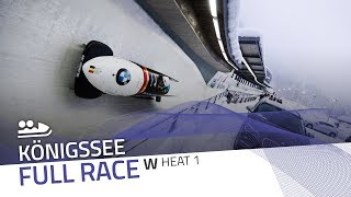 KÖnigssee | BMW IBSF World Cup 2018/2019 - Women's Bobsleigh Heat 1 | IBSF Official