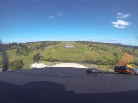 Norfolk Island landing