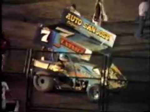 Mike Sargent - San Jose Speedway - Move the Lap Cars - (1985)