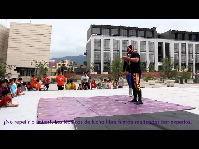 Muestra de Lucha Libre a niños de Curso de Verano 2013 - Primer Semana Videos De Viajes