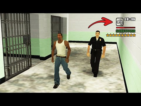 Real Prison in GTA San Andreas! (Secret 10 Stars Arrest Scene)