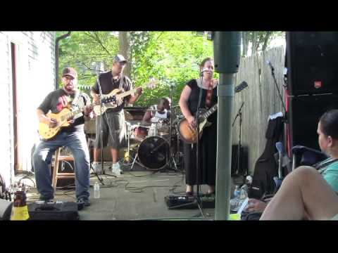 Jimi Hendrix Little Wing By Joanna Connor Band At Carty BBQ 2014