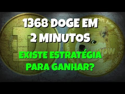 1368 DOGE Em 2 MINUTOS - Existe Estratégia Para Ganhar? Fique Alerta! FREE Dogecoin