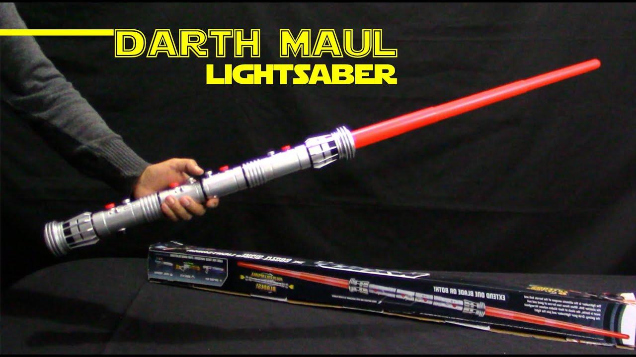 Darth maul lightsaber toy fx