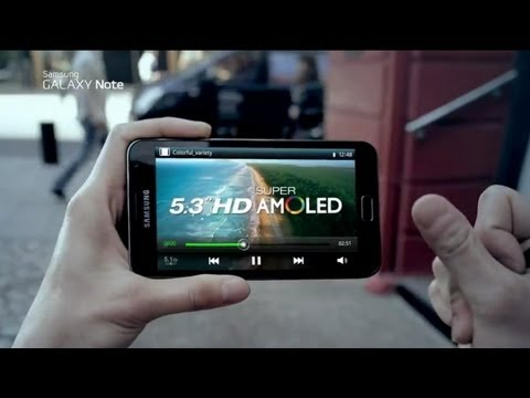 Samsung GALAXY Note Official TV Commercial