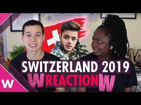 "Switzerland | Eurovision 2019 reaction video | Luca Hänni ""She Got Me"""