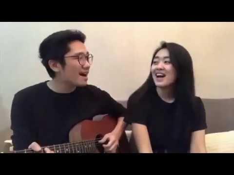 Vanessa Angel feat. Nicky Tirta - Indah Cintaku (Cover by Raynaldo Wijaya feat. Evelyn Mey Fanny)