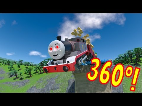 360º TOMICA Thomas and Friends: Timothy PLUNGES into a Ravine!