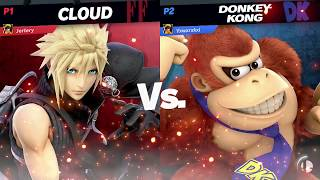 Cloud (Me) Vs Donkey Kong -  Super Smash Bros Ultimate (Quickplay)