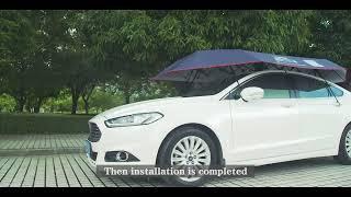 ขาย Ucall ร่มกันแดดรถยนต์อัตโนมัติด้วยรีโมท 4x2.1เมตร 5,900 บาท