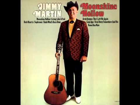 Moonshine Hollow [1973] - Jimmy Martin & The Sunny Mountain Boys