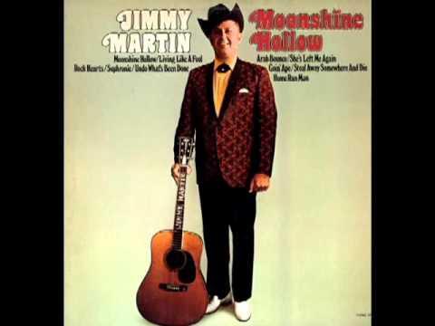 Moonshine Hollow [1973] - Jimmy Martin & The Sunny Mountain Boys