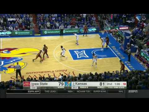 Iowa State at Kansas | 2016-17 Big 12 Men