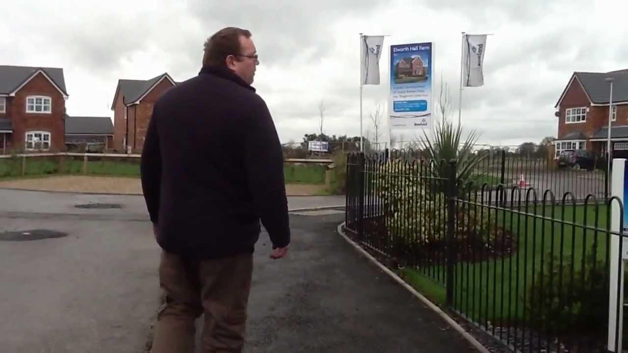 Rowland Homes At Elworth Hall Farm Sandbach Site Visit