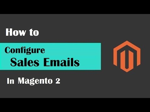 Magento 2 Tutorial Lesson #18 | #ConfigureSalesEmailsInMagento2
